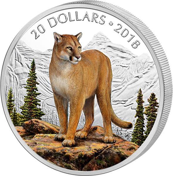 20 Dollars Kanada Mutiger Puma 2018