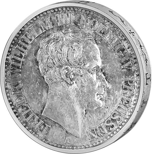 Ausbeutetaler Friedrich Wilhelm III.