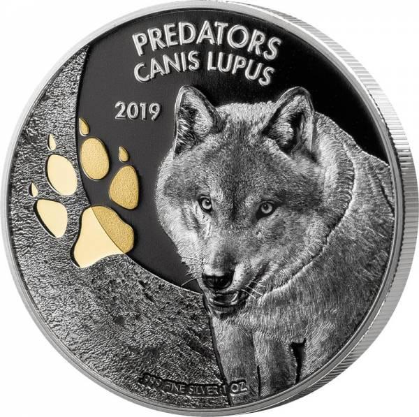 20 Francs Kongo Predators Wolf 2019