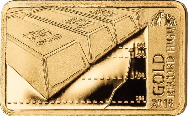 5 Dollars Fidschi Goldpreis auf Allzeithoch 2018