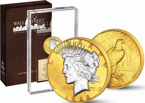 Wall Street Investment Heritage Edition Peace-Dollar 2015