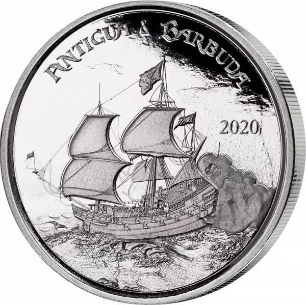 2 Dollars Antigua und Barbuda Rum Runner 2020