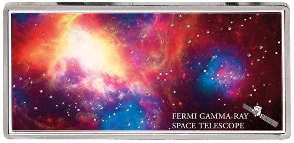 5 Dollars Samoa Shades of Space Fermi Gamma-Ray 2018 - FOTOMUSTER