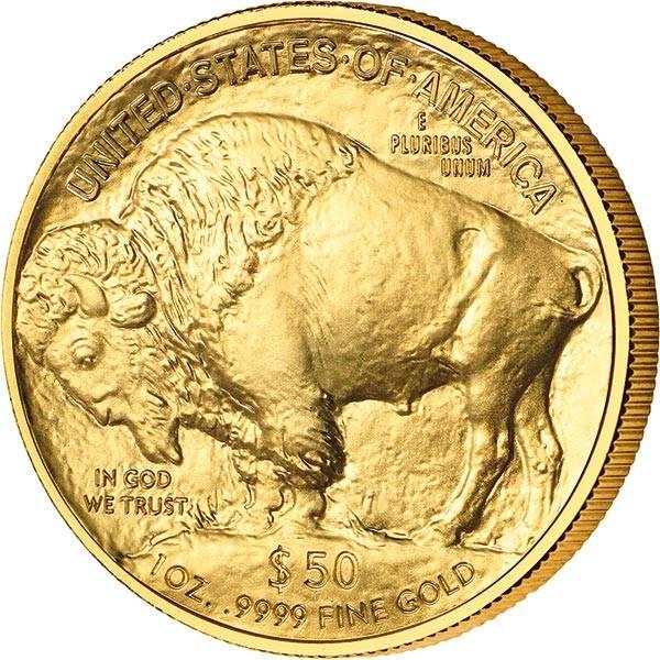1 Unze Gold USA Buffalo 2021