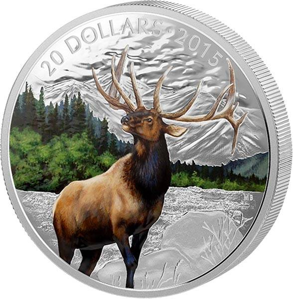 20 Dollars Kanada Elch 2015