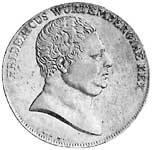 Taler Kronentaler Friedrich 1812 Sehr schön