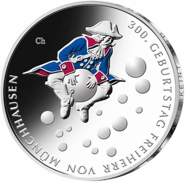 20 Euro BRD 300. Geburtstag Freiherr von Münchhausen 2020 st