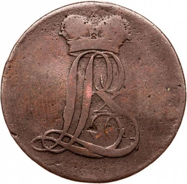 1/2 Stüber Hessen-Darmstadt Landgraf Ludwig X. 1805