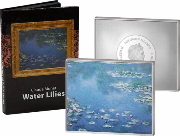 1 Dollar Salomonen Claude Monets Seerosen 2015  Polierte Platte (PP)