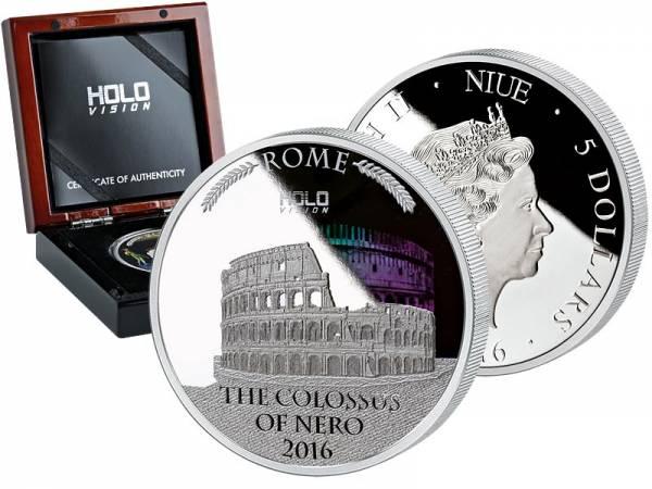 5 Dollars Niue Koloss des Nero
