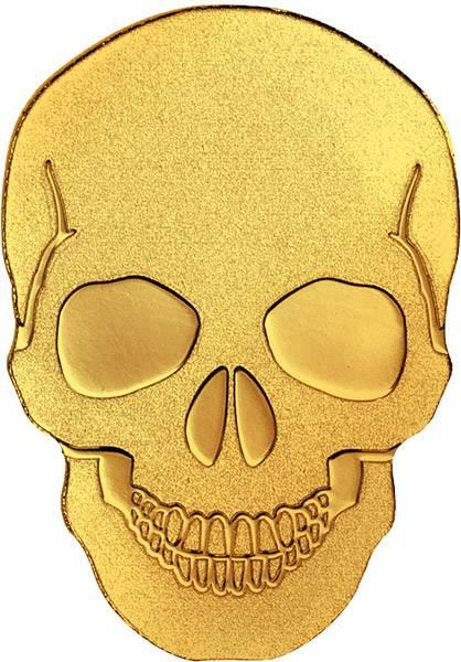 1 Dollar Palau Totenschädel