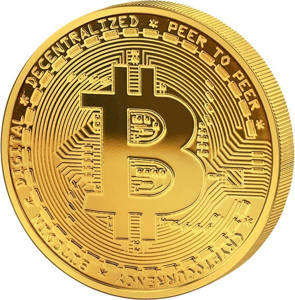 Gedenkprägung Bitcoin