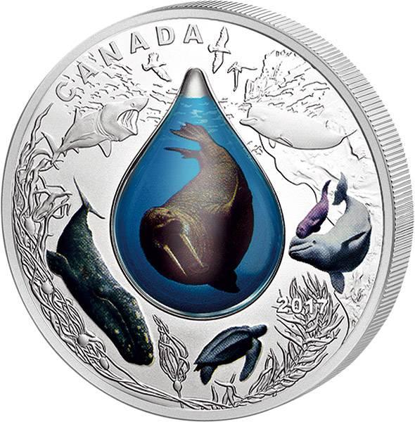 20 Dollars Kanada Unterwasserwelt 2017