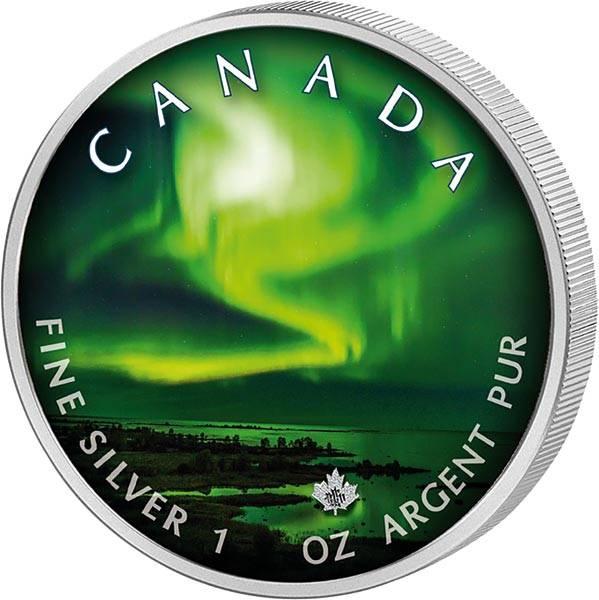 5 Dollars Kanada Maple Leaf Yellowknife Yukon 2020