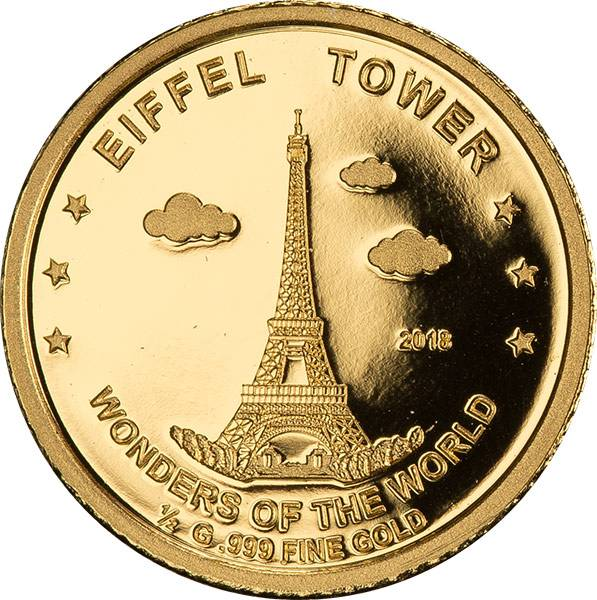 100 Francs Niger Eiffelturm 2018