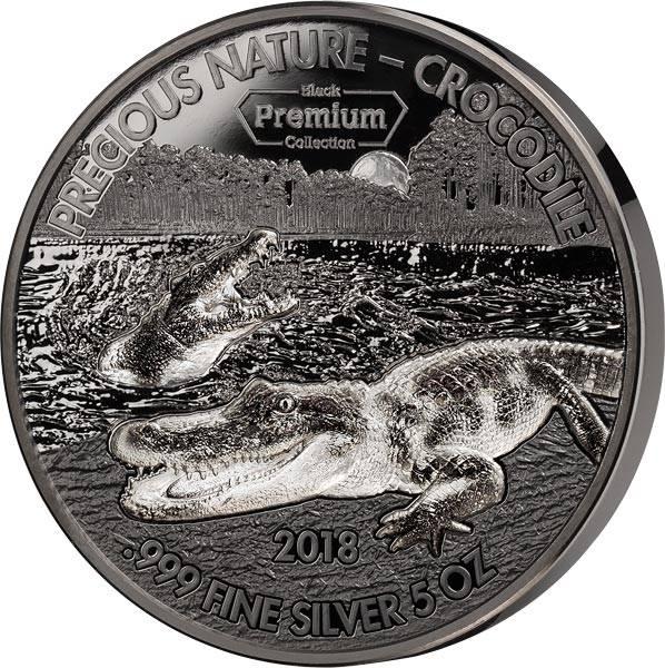 5.000 Francs Benin Krokodil 2018