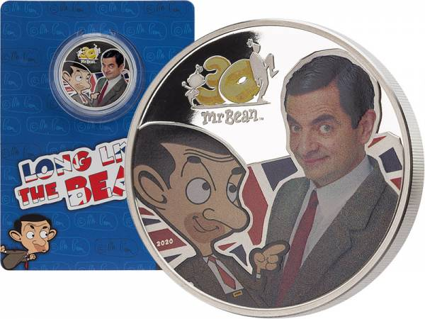 5 Dollar Cook-Inseln 30. Geburtstag Mr. Bean 2020