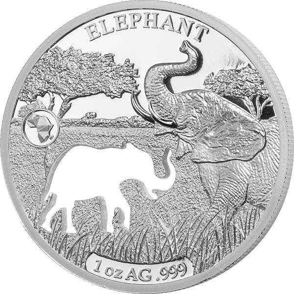 250 Francs Dschibuti Elefant 2018