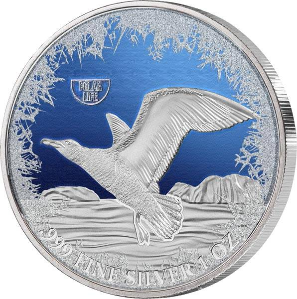 2 Dollars Niue Albatross 2019