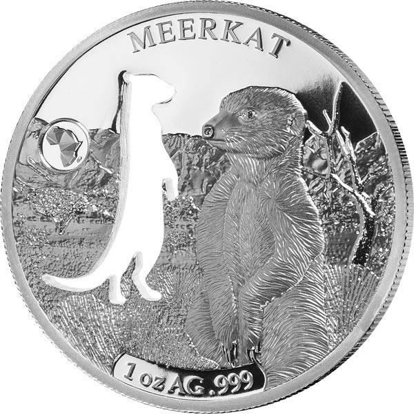 250 Francs Dschibuti Erdmännchen