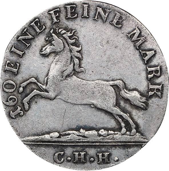 3 Mariengroschen Hannover König Goerg III.