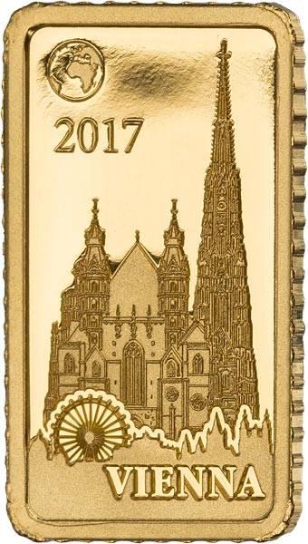 10 Dollars Salomonen Wien Stephansdom 2017