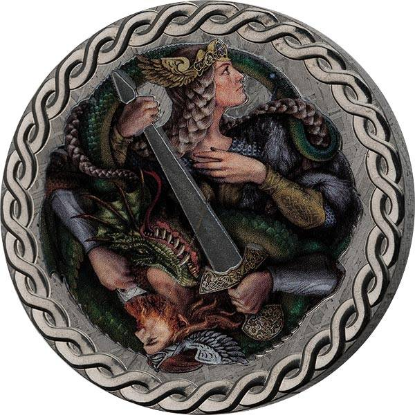 1 Dollar Niue Die Legende der Nibelungen 2019
