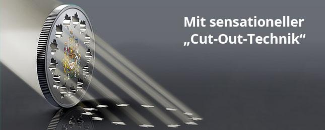 Mit sensationeller Cut-Out-Technik