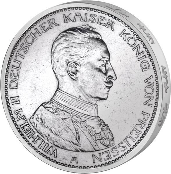 2x5 Mark Deutsches Kaiserreich / Preußen Kaiser Wilhelm II.