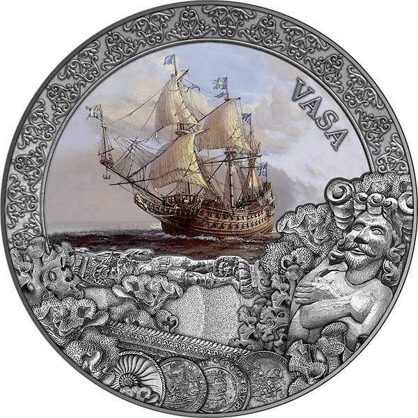 5 Dollar Niue Vasa 2021