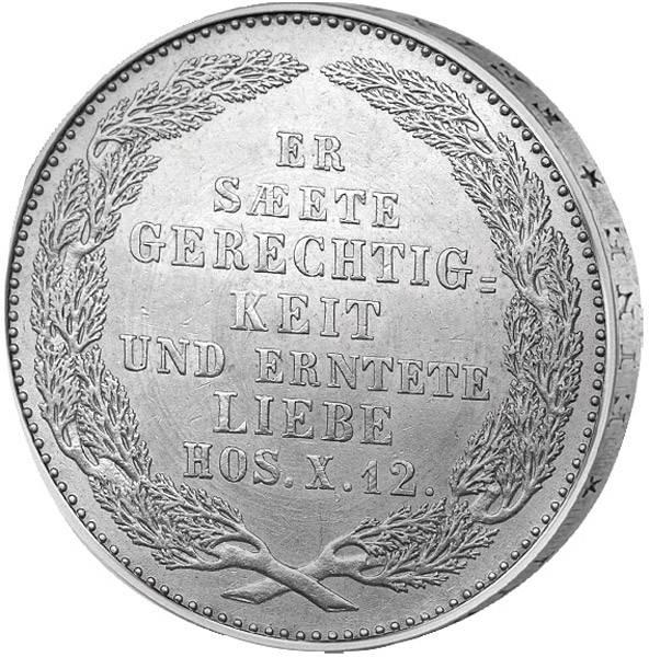 1/3 Taler König Friedrich August II.