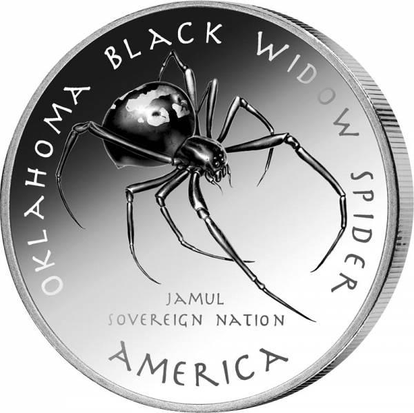 1 Dollar USA Native State Dollar Cheyenne Schwarze Witwe Oklahoma 2021