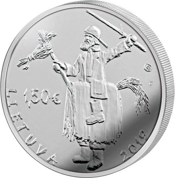 1,5 Euro Litauen Traditionelle litauische Feste Uzgavénés 2019