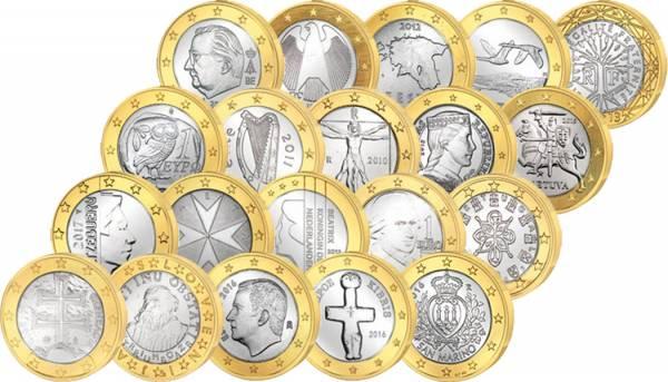 19x 1 Euro Europa + 1€ San Marino online kaufen ▷ reppa.de