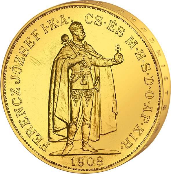 100 Kronen Ungarn König Franz Joseph I. 1907-1908