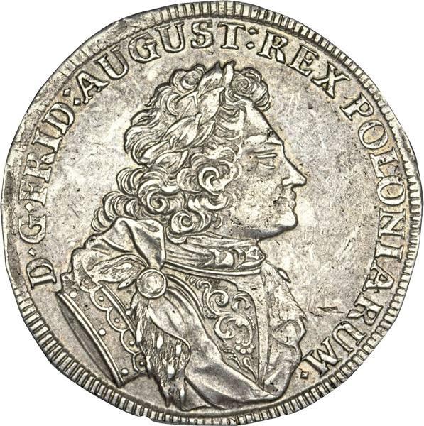 2/3 Taler Sachsen Kurfürst Friedrich August I., der Starke 1705-1707