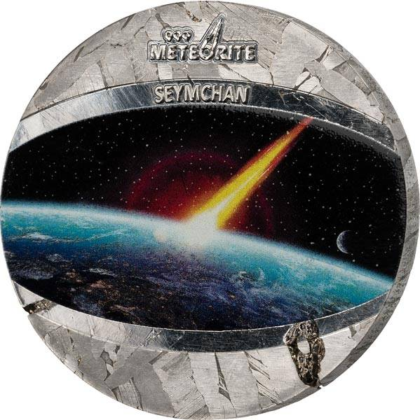 1 Dollar Niue Seymchan Meteorit 2021