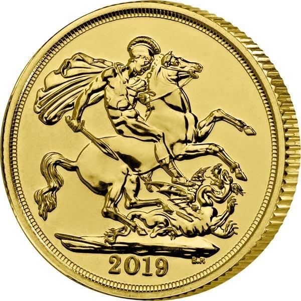 1 Sovereign Großbritannien Queen Elizabeth II.2019