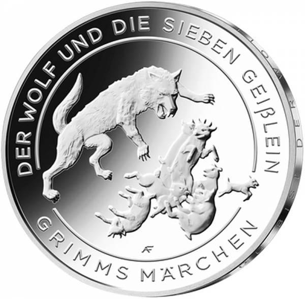 20 Euro BRD Der Wolf und die sieben Geißlein 2020