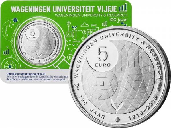5 Euro Niederlande Universität Wageningen 2018