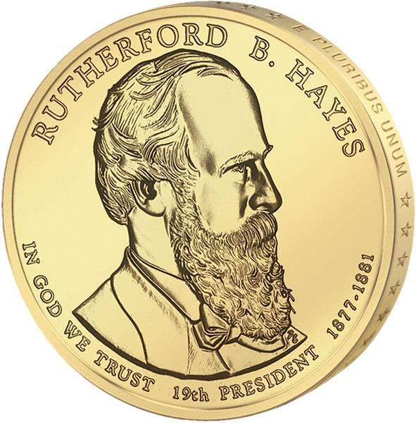 1 Dollar USA Rutherford B. Hayes 2011 Stempelglanz