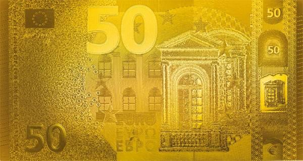 50 Euro BRD Goldfolien-Banknote