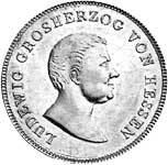 Taler Kronentaler Ludwig I. 1825  vorzüglich