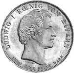 Geschichtstaler Ludwig I. St. Michaels-Orden 1837 vorzüglich