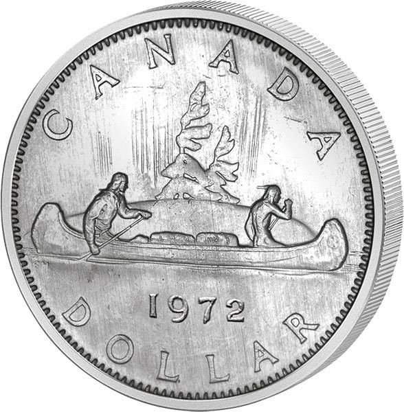 1 Dollar Kanada Kanu