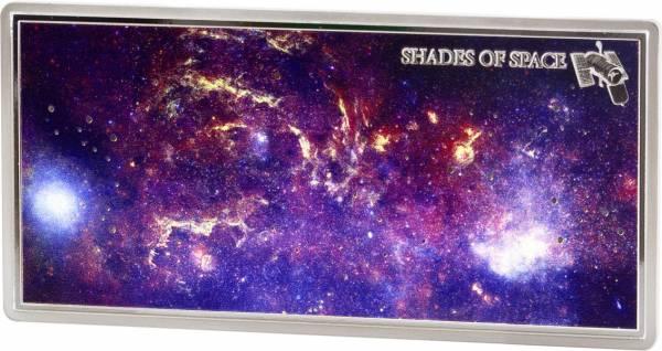 5 Dollars Samoa Shades of Space Hubble-Telescope 2017