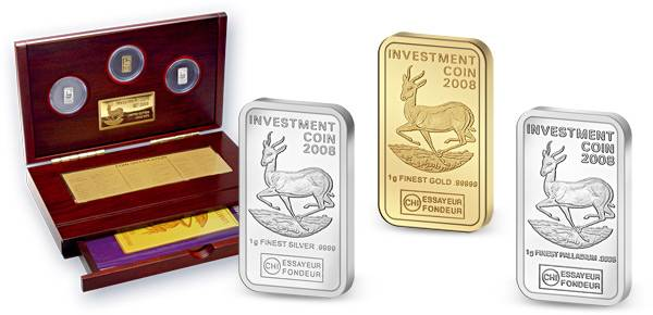 50 + 100 + 250 Kwacha Malawi Investment Coin Set 2008 Polierte Platte