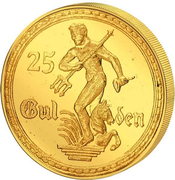 25 Gulden Freie Stadt Danzig