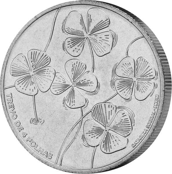 5 Euro Portugal Kleeblatt 2018