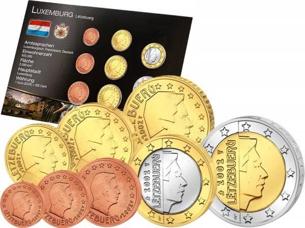 Premium-Euro-Kursmünzensatz Luxemburg